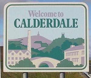 Calderdale - Signpost in Calderdale
