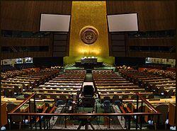 Apartheid condenado nas Na��es Unidas.