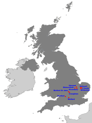 United States Air Force In The United Kingdom Wikipedia - Map-of-all-army-bases-in-the-us