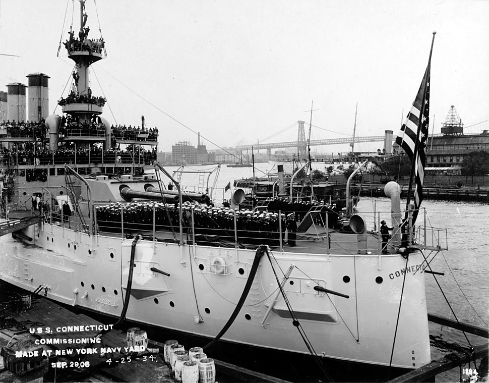 USS Connecticut - NH 55335