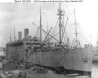 USS Covington (ID-1409) - Image: USS Covington (ID 1409)