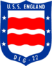 USS England (DLG-22) insignia, 1972.png