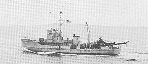 USS James M. Gilliss (AMCU-13) - Image: USS James M. Gillis (AGSC 13)