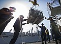 USS Mason conducts a replenishment-at-sea. (10426612196).jpg