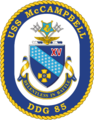 USS McCampbell DDG-85 Crest.png