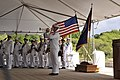 USS Missouri Memorial Association commemorates 68th anniversary of the end of World War II, unveils statue of Fleet Adm. Chester W. Nimitz 130902-N-PJ759-143.jpg