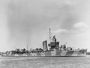 USS Mustin (DD-413) at Pearl Harbor on 14 June 1942 (80-G-10124)