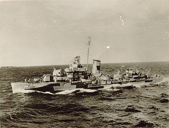 USS Patterson (DD-392) - Patterson at sea