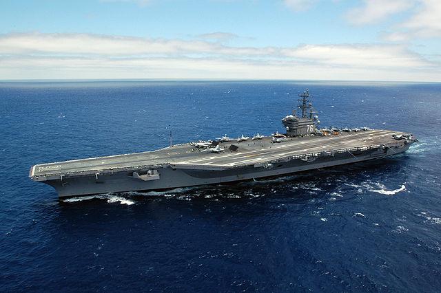 USS Ronald Reagan (CVN-76), From WikimediaPhotos