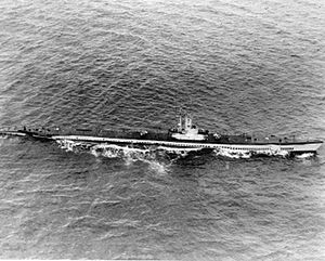USS Sea Poacher (SS-406) underway