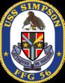 USS Simpson FFG-56 Crest.png