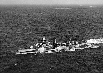 USS Somers (DD-381) - Image: USS Somers (DD 381) underway c 1944