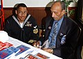 US Navy 030207-N-8894M-003 Oliver O. Goodal, a Tuskegee Airmen signs an autograph.jpg