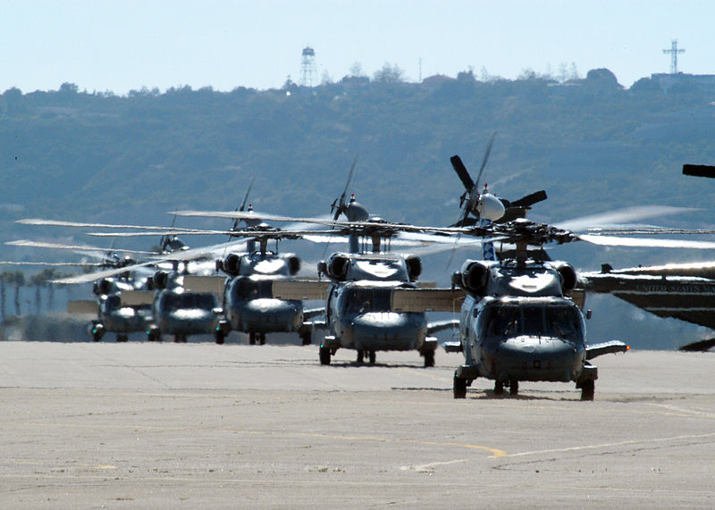 File:US Navy 030501-N-7281D-004 Five SH-60B Seahawks from the Black Knights of Helicopter Anti-Submarine Squadron Four (HS-4).jpg