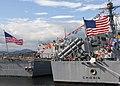US Navy 100610-N-9914P-096 he guided-missile destroyer USS Sampson (DDG 102) and the guided-missile cruiser USS Chosin (CG 65).jpg