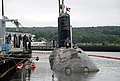 US Navy 100816-N-3090M-176 The Canadian navy Victoria-class long-range patrol submarine HMCS Corner Brook (SSK 878) arrives at Naval Submarine Base New London for a scheduled port visit.jpg