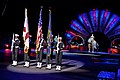 US Navy 110122-N-8590G-001 Sailors assigned to Naval Air Station Jacksonville display the colors during the Ringling Bros. and Barnum ^ Bailey Circ.jpg