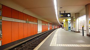 Rudow (Berlin U-Bahn) - U-Bahn station Rudow