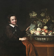Boy with a Bowl of Fruit