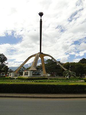 Arusha - Arusha Declaration Monument in Arusha