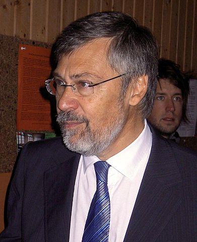 Ulf Ekman, när han hade skägg
