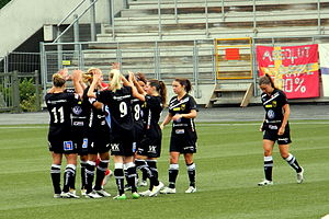 Umeå IK - Before a match in July 2011