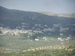 Beit Imrin, from the west