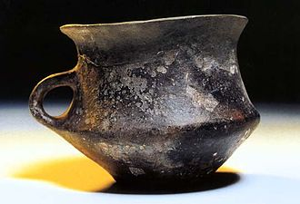 Unetice culture - Typical Uneticean mug from classic phase, Czech Republic