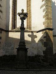 Kamenný krucifix