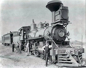 Taunton Locomotive Manufacturing Company - Image: Union Pacific steam locomotive 924