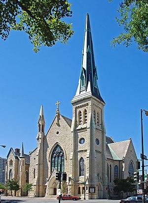 Gurdon P. Randall - Union Park Congregational Church and Carpenter Chapel, Chicago
