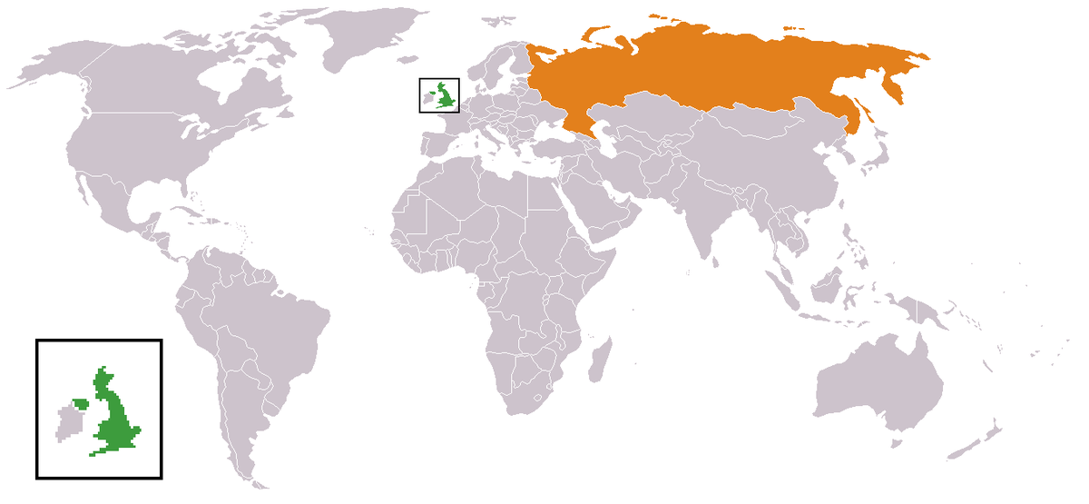Russia–United Kingdom relations - Wikipedia