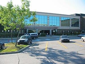 Université du Québec en Outaouais - Partial view of the Lucien-Brault building in Gatineau