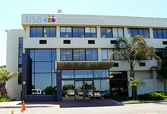 University of Stellenbosch Business School - USB main building entrance