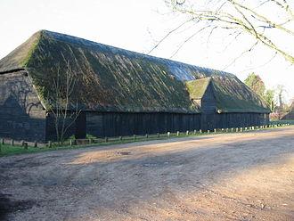 Upminster Tithe Barn Museum of Nostalgia - Image: Upminster tithe barn south