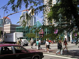 New Westminster City in British Columbia, Canada