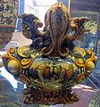Urbino, bottega fontana, vaso con morte di adone e mercurio che addormenta argo, 1565-75 ca..JPG