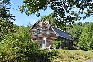 National Register of Historic Places listings in Uxbridge, Massachusetts - Image: Uxbridge MA E Albee House