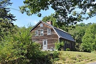 E. Albee House - Image: Uxbridge MA E Albee House