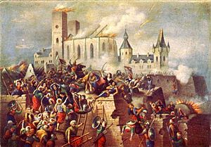 Siege of Eger (1552) - Siege of Eger Castle