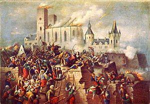Vízkelety Béla Eger vár ostroma 1552-ben.jpg