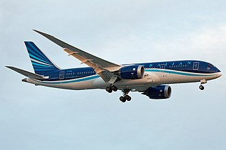 Azerbaijan Airlines - Azerbaijan Airlines Boeing 787-8