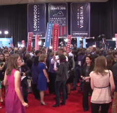 VP debate 2016 spin room 02.png