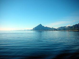 Vestfjorden - Image: Vagakallen 1