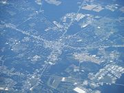 Valdosta GA from airplane