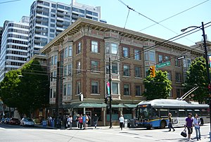 Robson Street - Manhattan Apartments (1908)