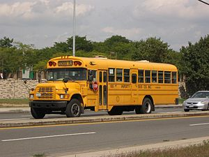 Varsity Bus Company - Image: Varsity Bus Company Blue Bird 1099