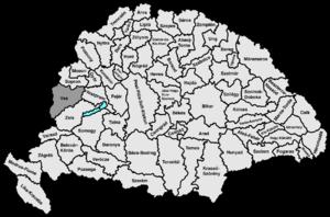 Vas County (former) - Image: Vas