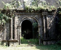 Entrance to the Bassein Fort in Vasai.
