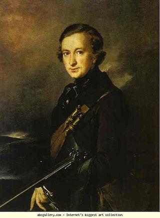 Портрет Ю.Ф.Самарина в охотничьем костюме. 1846